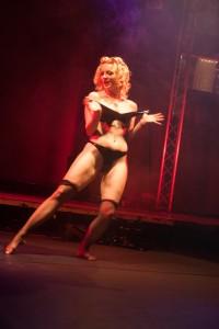 Burlesque Show von Krissy Lou